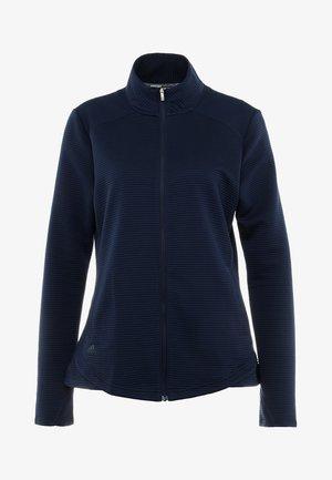 ESSENTIALS  - Zip-up hoodie - dark blue