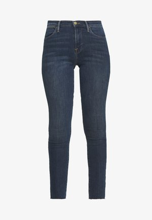 HIGH SKINNY RAW EDGE - Jeans Skinny Fit - fayette