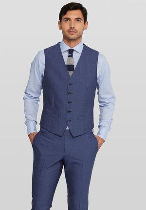 Evion Split - Suit waistcoat - blue