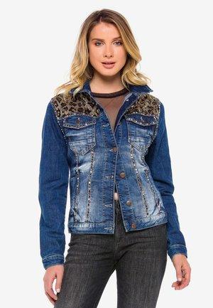 DAMEN - Denim jacket - blue