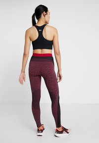 ODLO - BOTTOM PANT PERFORMANCE - Punčochy - black/cerise