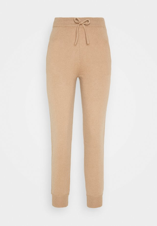 JOGGER PANTS - Tracksuit bottoms - camel