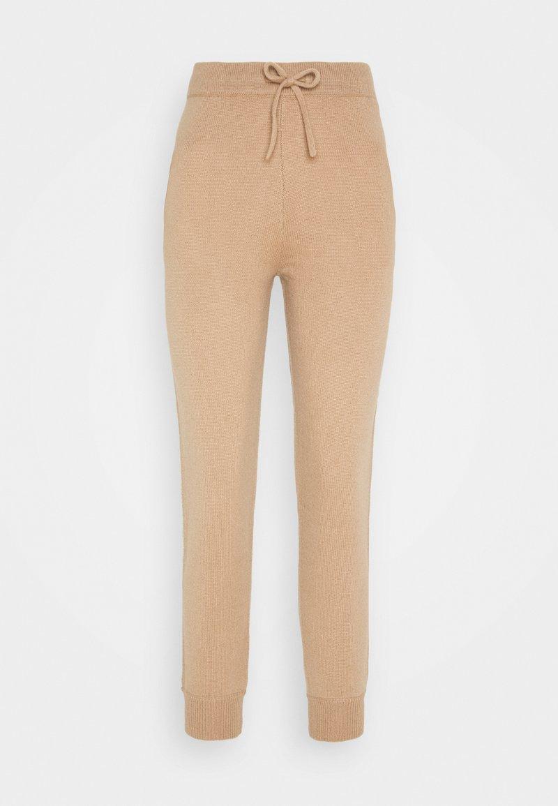 pure cashmere - JOGGER PANTS - Pantalones deportivos - camel