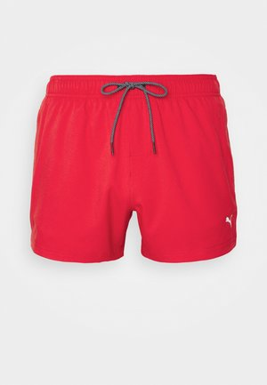 SWIM MEN LENGTH - Uimashortsit - red