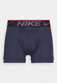 Nike Underwear - TRUNK BREATHE MICRO 2 PACK - Bokserit - blue - 2