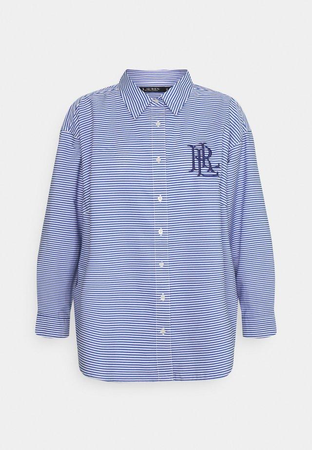 KOTTA LONG SLEEVE SHIRT - Camicia - blue/white multi