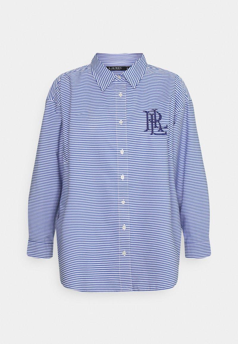 Lauren Ralph Lauren Woman - KOTTA LONG SLEEVE SHIRT - Camicia - blue/white multi
