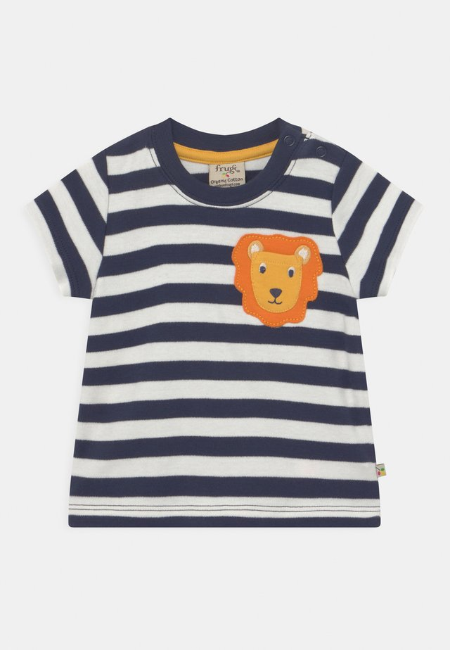 POLZEATH POCKET LION UNISEX - T-shirt print - indigo