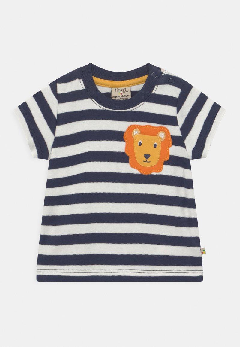Frugi - POLZEATH POCKET LION UNISEX - Print T-shirt - indigo
