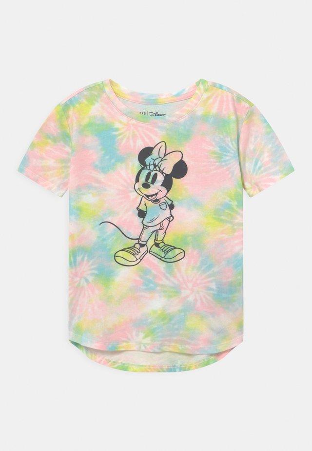 GIRL MINNIE - Print T-shirt - multi-coloured