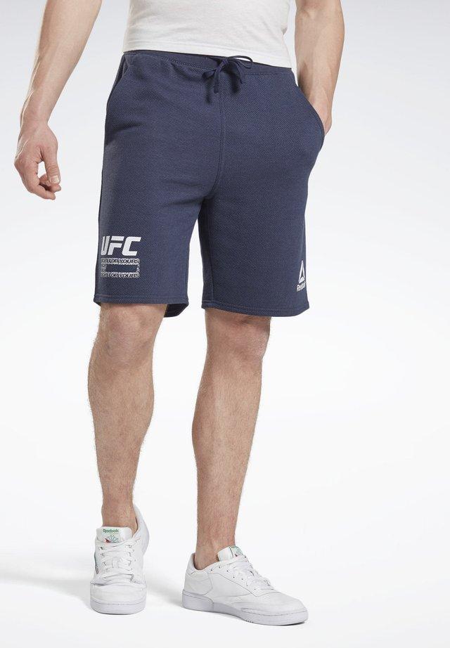 UFC FG FIGHT WEEK SHORTS - Korte broeken - blue