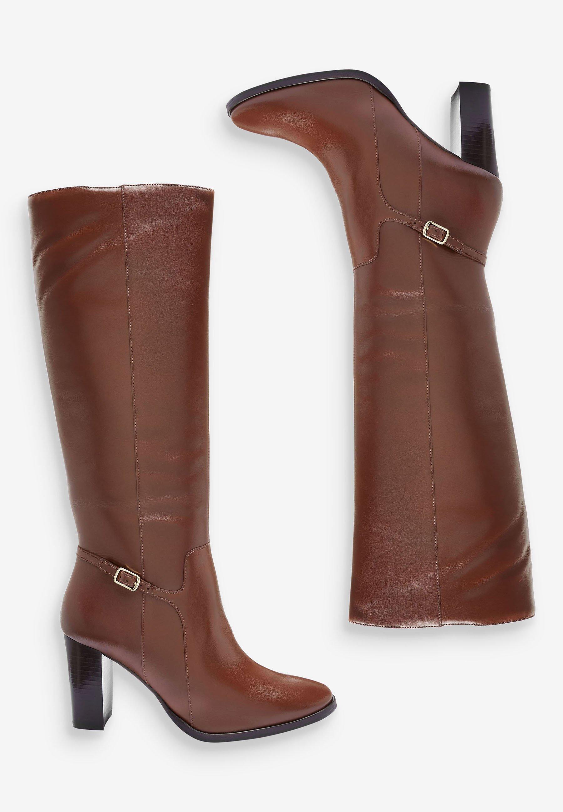 Next TAN SIGNATURE  High Heel Stiefel brown/braun