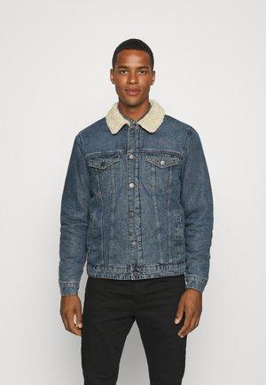 ONSLOUIS LIFE JACKET - Denim jacket - blue denim