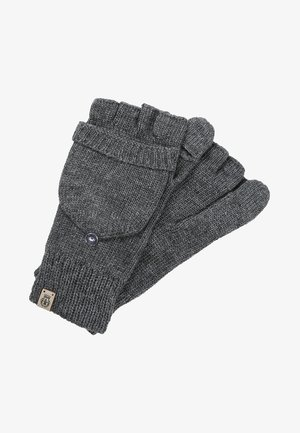 Fingerless gloves - silvergrey