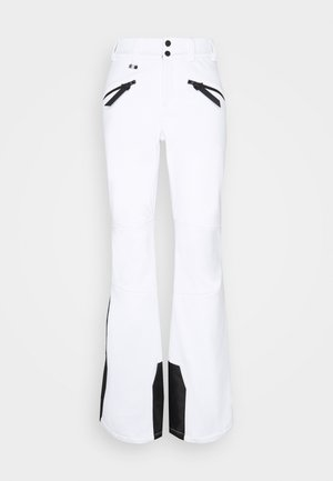 SLALOM SLIM - Snow pants - white