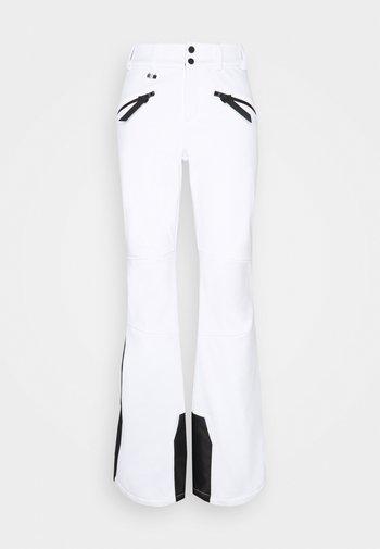 SLALOM SLIM - Snow pants - white