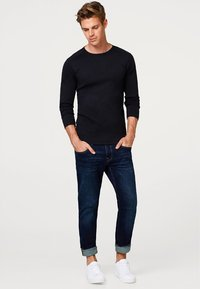 Esprit - BASIC - Long sleeved top - black - 1