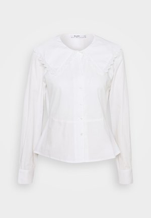 EMBROIDERY COLLAR - Camisa - off white