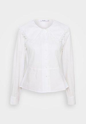 EMBROIDERY COLLAR - Hemdbluse - off white