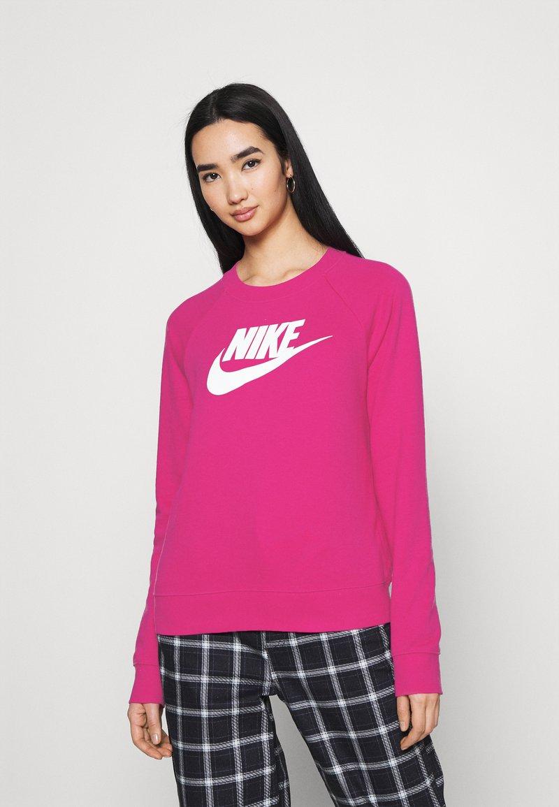 Nike Sportswear - CREW - Sweater - fireberry/white