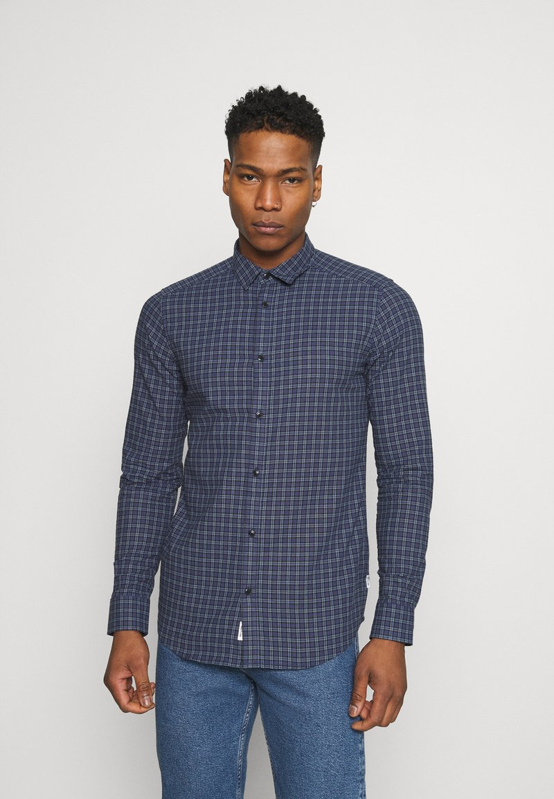Only & Sons - ONSTONY LIFE CHECKED - Skjorta - dress blues
