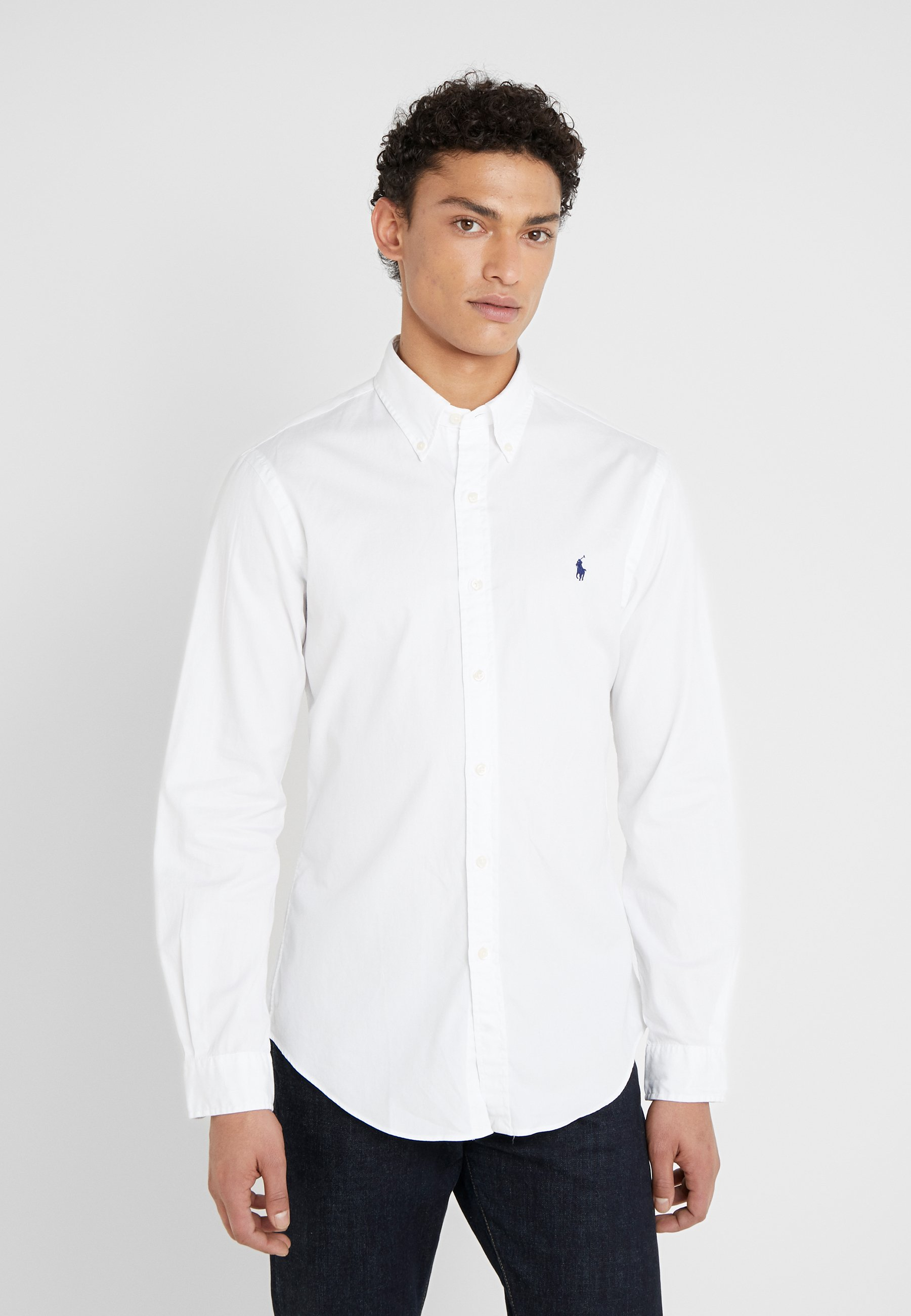 Homme SLIM FIT GARMENT-DYED TWILL SHIRT - Chemise