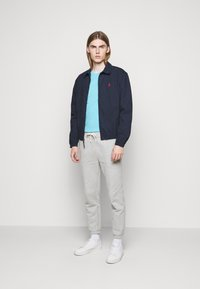 Polo Ralph Lauren - CUSTOM SLIM FIT CREWNECK - Basic T-shirt - french turquoise - 1