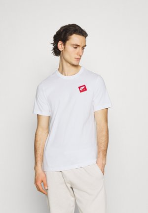 CREW - Camiseta estampada - white/red