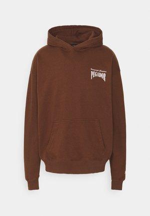 EVANDER HOODIE UNISEX - Hoodie - vintage brown