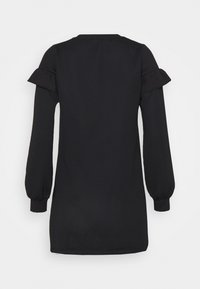 Miss Selfridge Petite - FRILL SLEEVE DRESS - Day dress - black - 7