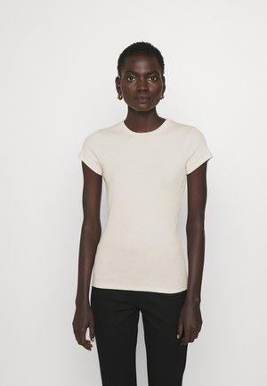 FINE TEE - T-shirts basic - ivory