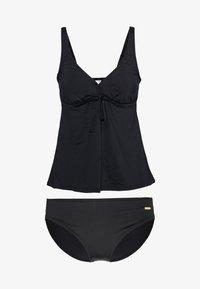 Sunseeker - WIRETANKINI SET - Swimsuit - black solid - 0