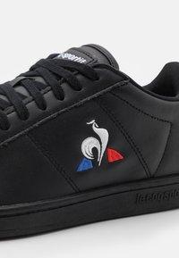 le coq sportif - COURTSET UNISEX - Trainers - triple black - 5