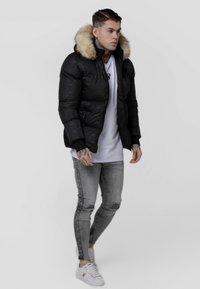 SIKSILK - DESTRUCTION JACKET - Winter jacket - black - 1