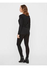 MAMALICIOUS - NURSING 2PACK - Bluzka z długim rękawem - black/black - 2