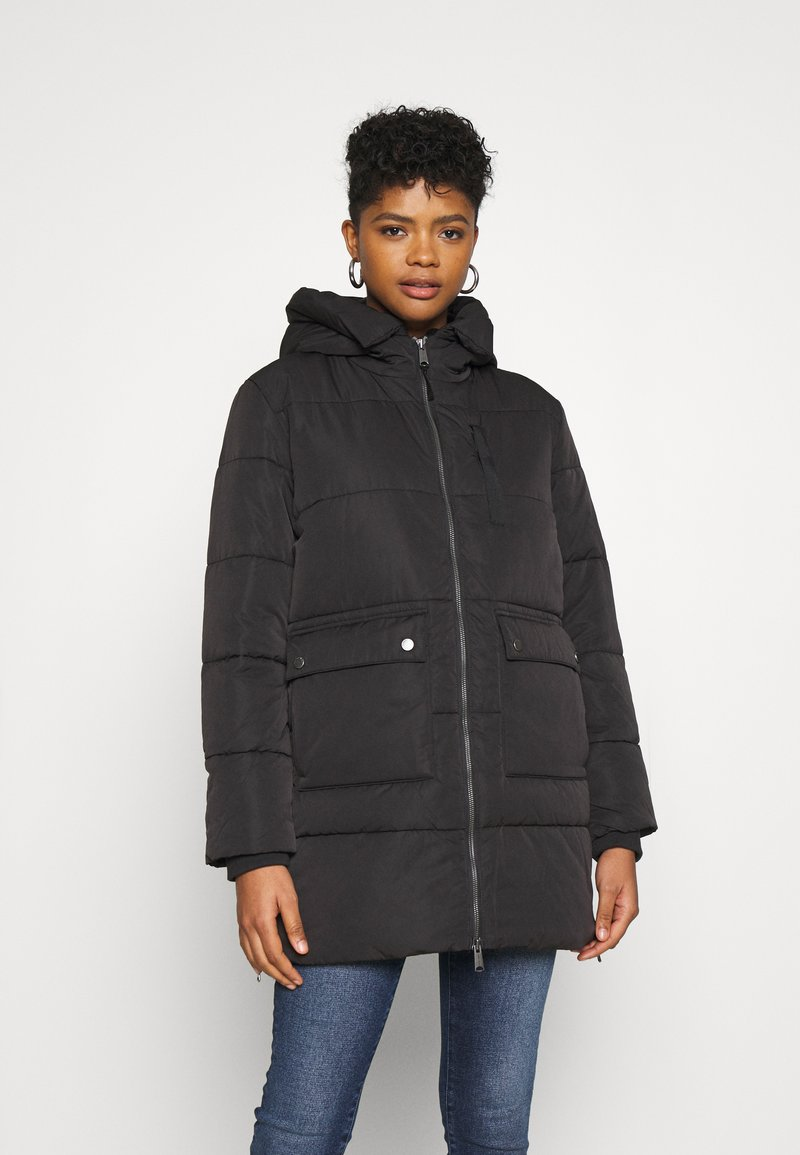 Tommy Jeans - HOODED  - Winter coat - black