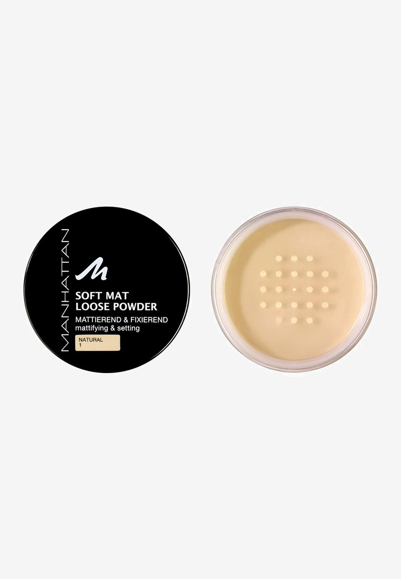 Manhattan Cosmetics - SOFT MAT LOOSE POWDER - Powder - 1 natural
