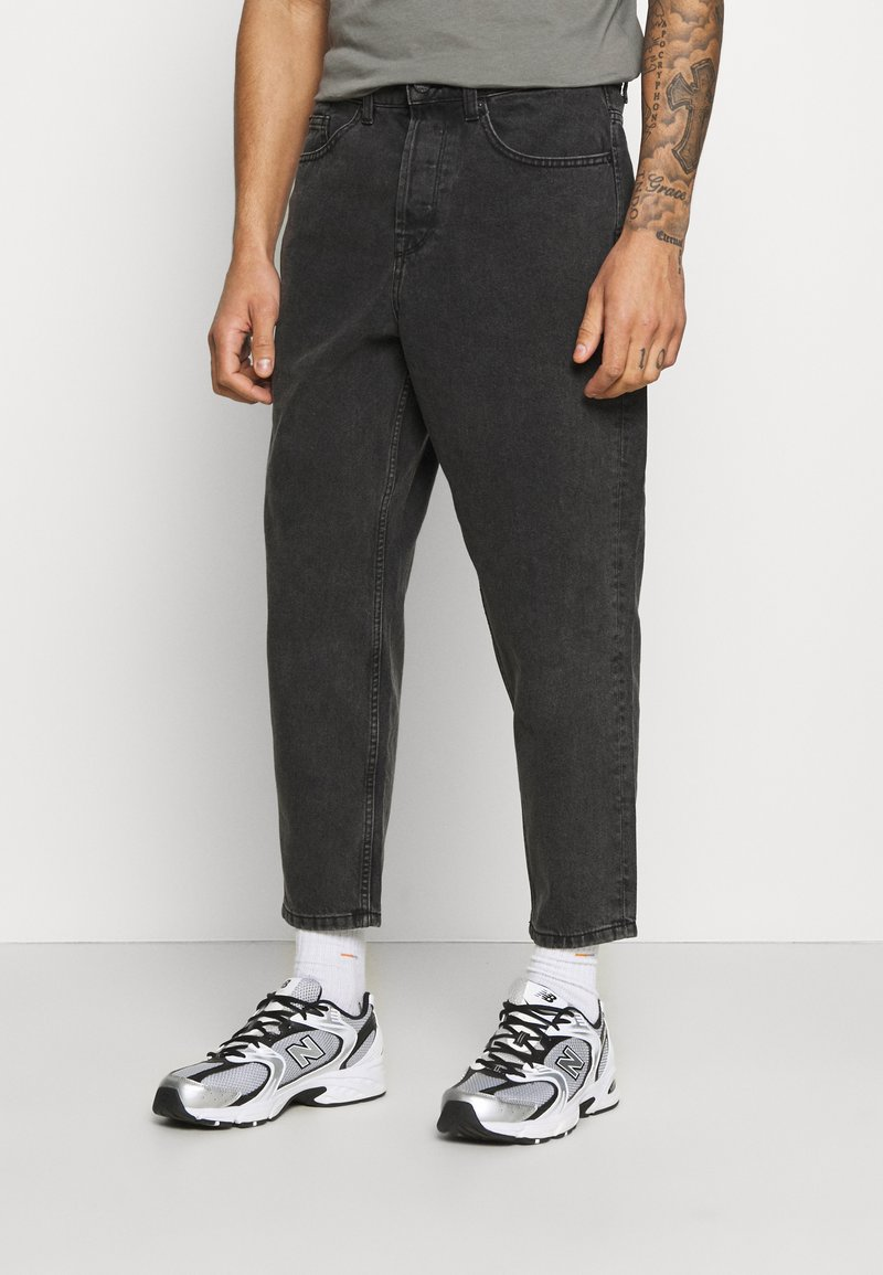 Only & Sons - ONSCONE LIFE CARROT - Jeans Tapered Fit - black denim