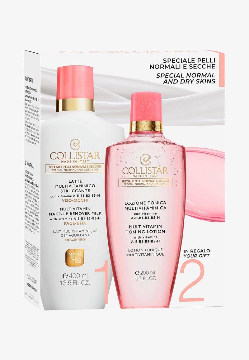Collistar - MULTIVITAMIN MAKE-UP REMOVER MILK FACE-EYES KIT - Skincare set - -