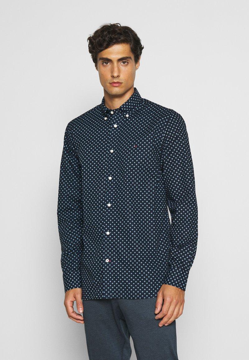 Tommy Hilfiger - FLORAL GEO PRINT - Shirt - blue