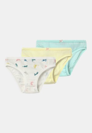 MULTI 3 PACK - Briefs - multi-coloured/off-white