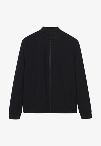 ESTEVO - Bomber Jacket - noir
