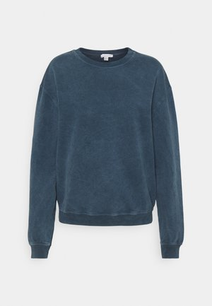 ACID WASH - Sweatshirt - denim blue