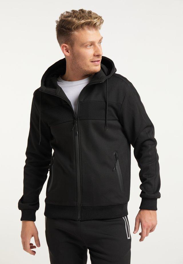 Training jacket - schwarz schwarz