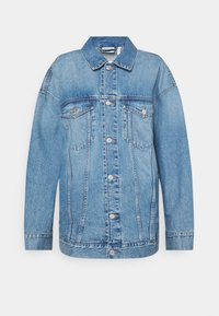GIGA JACKET - Kurtka jeansowa - blue