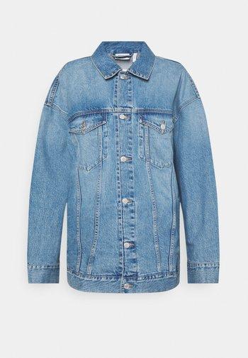 GIGA JACKET - Denim jacket - blue
