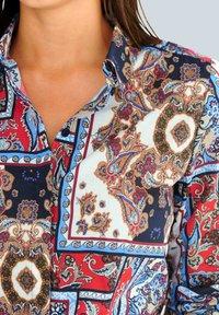 Alba Moda - Button-down blouse - marineblau,rot,weiß - 1