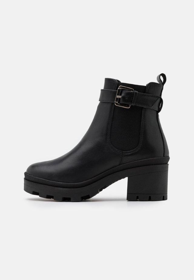 NICOLE - Classic ankle boots - noir