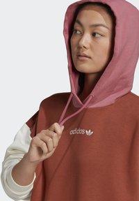 adidas Originals - HOODED DRESS CB - Hoodie - multicolor - 4