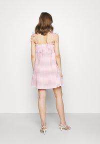 Cotton On - MATILDA TIE STRAPPY MINI DRESS - Day dress - fairy floss - 2